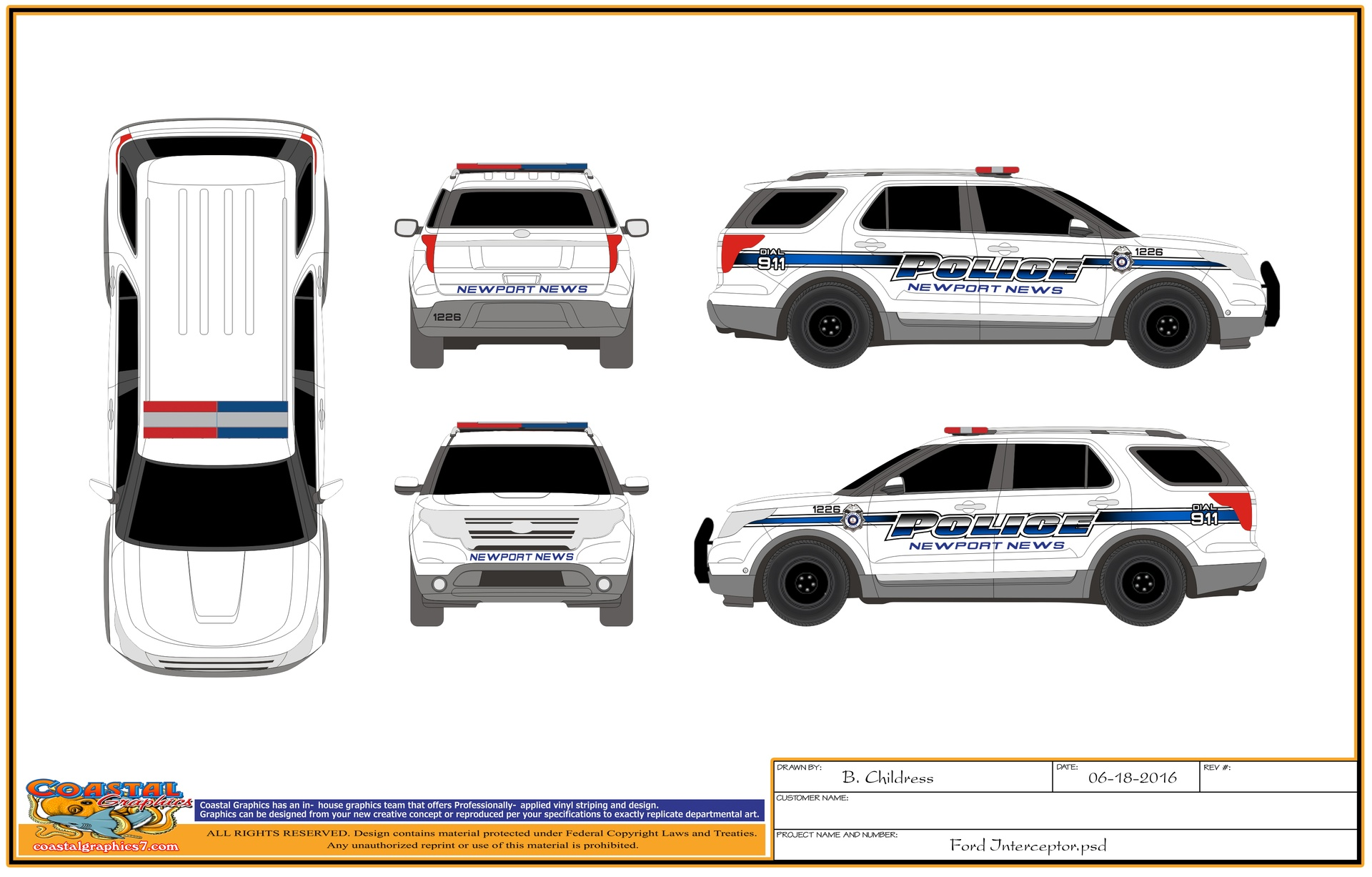 Police Vehicle Decals Vehicle Ideas